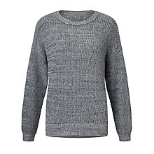 Buy Kin by John Lewis Twisted Yarn Jumper, Teal Online at johnlewis.com