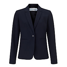 Buy John Lewis Gracie Fine Wool Jacket, Navy Online at johnlewis.com