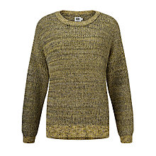 Buy Kin by John Lewis Twisted Yarn Jumper, Yellow Online at johnlewis.com