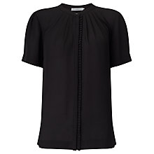 Buy John Lewis Pleat Trim Blouse Online at johnlewis.com