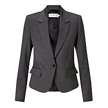 Buy John Lewis Josie Tailored Jacket, Dark Grey Online at johnlewis.com