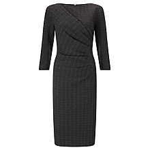 Buy John Lewis Alexie Textured Dress, Grey Online at johnlewis.com