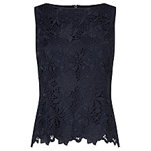 Buy Bruce by Bruce Oldfield Guipure Lace Shell Top Online at johnlewis.com