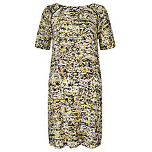 Buy Kin by John Lewis Shattered Floral Dress, Yellow Online at johnlewis.com