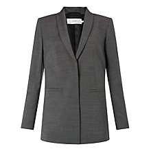 Buy John Lewis Annabella Tailored Jacket, Dark Grey Online at johnlewis.com