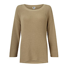 Buy Kin by John Lewis Fisherman Rib Jumper Online at johnlewis.com