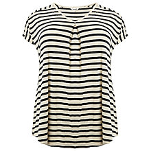 Buy Studio 8 Bonita Stripe Top, Blue/White Online at johnlewis.com