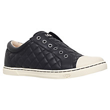 Buy UGG Jemma Laceless Trainers, Black Online at johnlewis.com