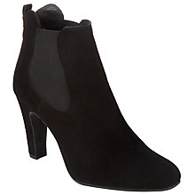Buy Somerset by Alice Temperley Othery Block Heeled Chelsea Boot, Black Suede Online at johnlewis.com