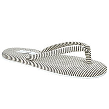 Buy John Lewis Toe Post Slippers, Navy Stripe Online at johnlewis.com