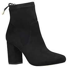 Buy Miss KG Swan Rear Lace Ankle Boots, Black Online at johnlewis.com