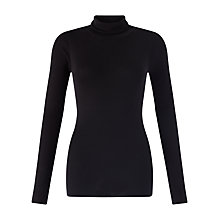 Buy Jigsaw Silk Cotton Polo Neck Jumper Online at johnlewis.com