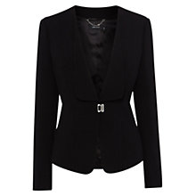 Buy Karen Millen Fluid Lightweight Jacket, Black Online at johnlewis.com