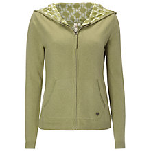 Buy White Stuff Tally Ho Zip Hoodie, Oak Tree Online at johnlewis.com
