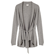 Buy East Longline Peplum Cardigan, Ash Online at johnlewis.com