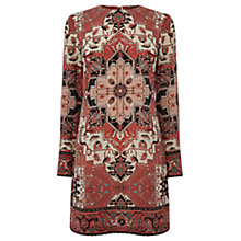 Buy Warehouse Tapestry Shift Dress, Multi Online at johnlewis.com