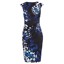 Buy Karen Millen Butterfly Wing Print Dress, Blue/Multi Online at johnlewis.com