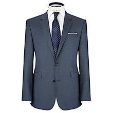 Buy John Lewis Super 100s Wool Birdseye Tailored Suit Jacket, Cornflower Online at johnlewis.com