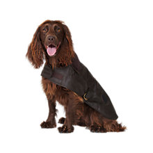 Buy Barbour Wax Dog Coat Online at johnlewis.com
