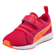Buy Puma Children's Carson Runner Rip-Tape Trainers, Pink Online at johnlewis.com