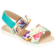 Buy John Lewis Tropical Print Sandals, Multi Online at johnlewis.com