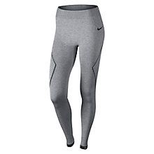 Buy Nike Pro Hyperwarm Limitless Running Tights, Grey Online at johnlewis.com