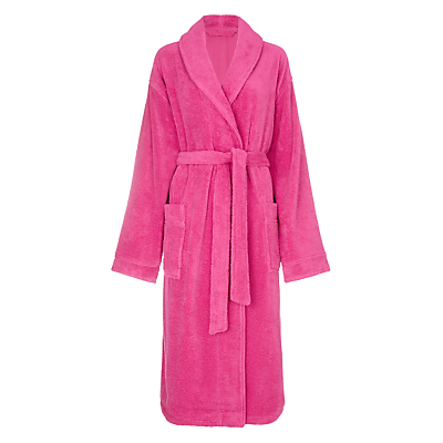 John Lewis Super Soft & Cosy Cotton Dressing Gown