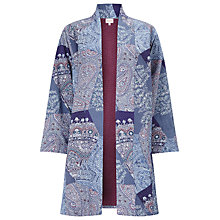 Buy East Tamina Gurdi Coat, Indigo Online at johnlewis.com