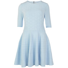 Buy Ted Baker Sanvie Textured Stitch Dress Online at johnlewis.com
