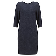 Buy Jigsaw Speckled Knit Dress, Navy Online at johnlewis.com