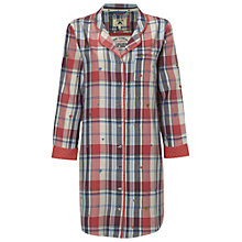 Buy White Stuff Check Nightshirt, Blush Pink Online at johnlewis.com
