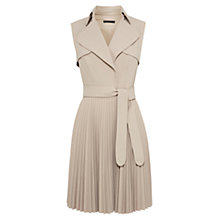 Buy Karen Millen Belted Trench Dress, Neutral Online at johnlewis.com
