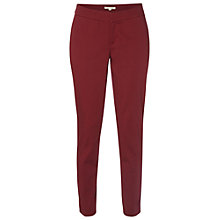 Buy White Stuff Sateen Ankle Grazer, Red Online at johnlewis.com