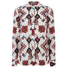 Buy Warehouse Tapestry Print Blouse, Multi Online at johnlewis.com