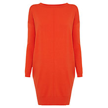 Buy Karen Millen Pocket Knit Dress, Orange Online at johnlewis.com