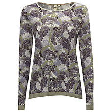 Buy White Stuff Emperess Jumper, Midnight Mauve Online at johnlewis.com