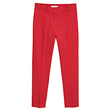 Buy Mango Suit Trousers, Red Online at johnlewis.com