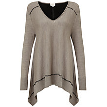Buy East Jersey Oversized Merino Jumper, Stone Online at johnlewis.com