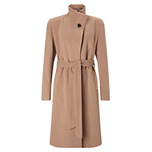 Buy Four Seasons Wrap Stand Collar Coat Online at johnlewis.com