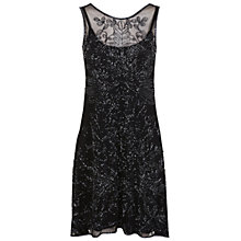 Buy Miss Selfridge Danielle Dip Back Dress, Blue Online at johnlewis.com