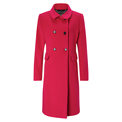 Retro Vintage Style Coats, Jackets, Fur Stoles Four Seasons Double Breasted Coat £149.00 AT vintagedancer.com
