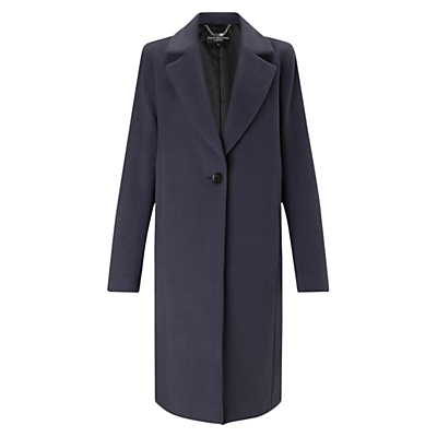 Four Seasons Cocoon Wool Blend Coat