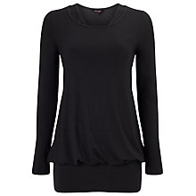 Buy Phase Eight Belinda Double Top, Charcoal Online at johnlewis.com