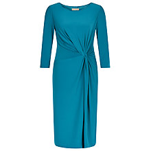 Buy Planet Jersey Twist Dress, Bright Blue Online at johnlewis.com