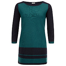 Buy Planet Block Knit Tunic, Multi Blue Online at johnlewis.com