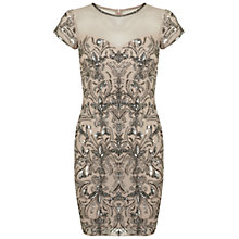 Buy Miss Selfridge Fleur Embellished Bodycon Dress Online at johnlewis.com