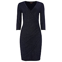 Buy Phase Eight Maisie Wrap Dress, Navy Online at johnlewis.com