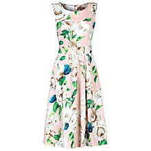 Buy Jolie Moi Floral Print Dress, Pink Online at johnlewis.com
