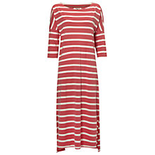 Buy White Stuff Stripe Midi Nightie, Blush Pink Online at johnlewis.com