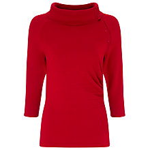 Buy Phase Eight Shaniya Split Neck Knit Top Online at johnlewis.com